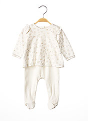 Pyjama blanc ABSORBA pour fille seconde vue
