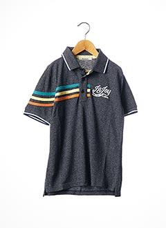 Polo manches courtes bleu JN-JOY pour garçon