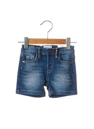 Short bleu MAYORAL pour fille