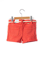 Short rouge MAYORAL pour fille seconde vue