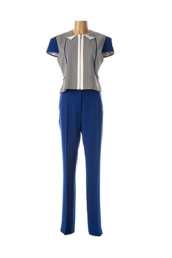 Veste/robe bleu EXALTATION pour femme