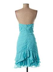 Robe mi-longue bleu SYLFANY pour femme seconde vue