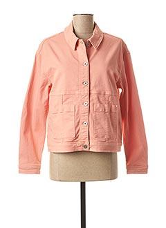 Veste en jean rose I.CODE (By IKKS) pour femme