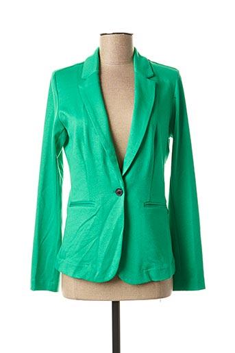 Veste chic / Blazer vert GARCIA pour femme