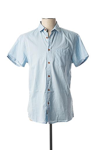 Chemise manches courtes bleu TIFFOSI pour homme