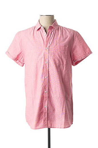 Chemise manches courtes rouge TIFFOSI pour homme