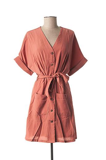 Robe courte rose GRACE & MILA pour femme