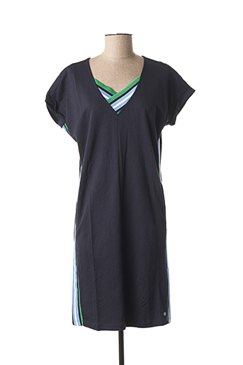 Robe mi-longue bleu GARCIA pour femme