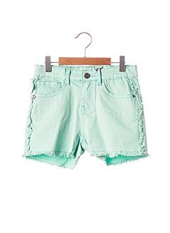 Short vert 3 POMMES pour fille