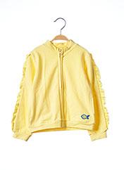 Veste casual jaune 3 POMMES pour fille seconde vue