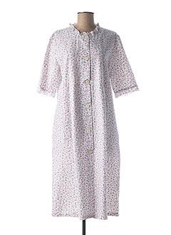 Robe de chambre rose CANAT pour femme