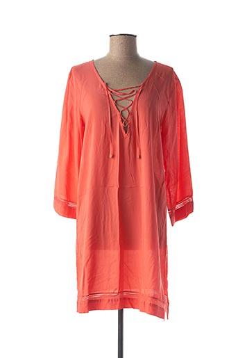 Chemise de nuit orange CHANTELLE pour femme