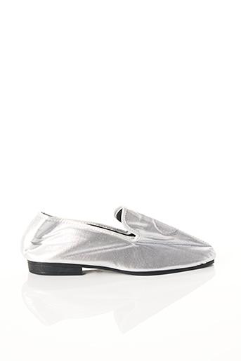 Chaussons/Pantoufles gris CANAT pour femme