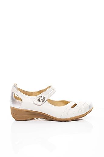 Ballerines blanc GEO-REINO pour femme