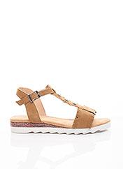 Sandales/Nu pieds marron SWEET pour femme seconde vue