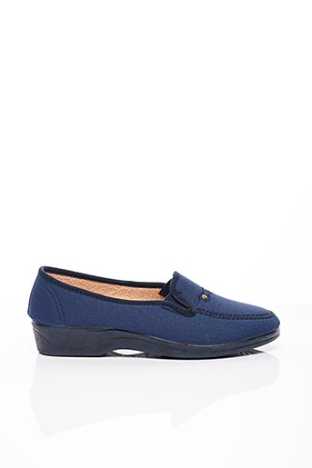 Chaussons/Pantoufles bleu SOIR ET MATIN pour femme