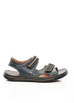 Sandales/Nu pieds bleu ARIMA pour homme