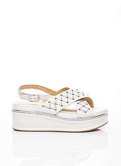 Sandales/Nu pieds blanc ADELE DEZOTTI pour femme