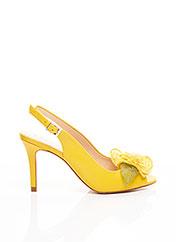 Escarpins jaune SACHA LONDON pour femme seconde vue