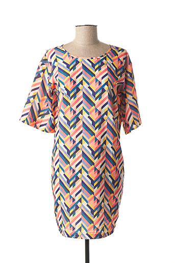 Robe courte orange COQUELICOT pour femme
