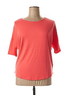 T-shirt manches longues orange KATMAI pour femme