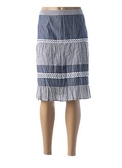 Jupe mi-longue bleu FIGURE LIBRE pour femme