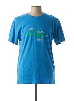 T-shirt manches courtes bleu BESTE BAT pour homme