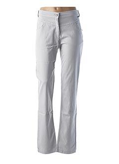 Pantalon casual gris MAE MAHE pour femme
