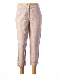Pantalon 7/8 rose 1 2 3 pour femme