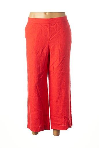 Pantalon 7/8 rouge MAISON 123 pour femme