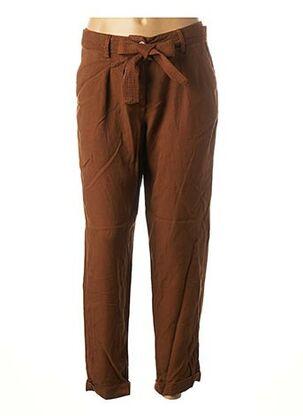 Pantalon 7/8 marron MAISON 123 pour femme