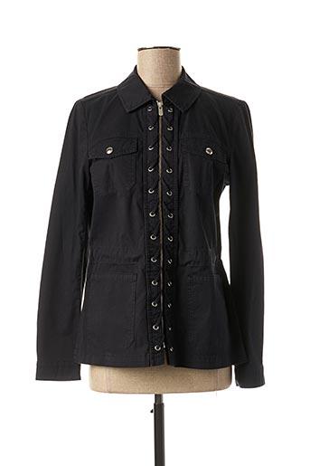 Veste casual noir MAISON 123 pour femme