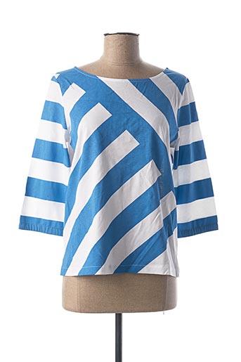 T-shirt manches longues bleu MAISON 123 pour femme