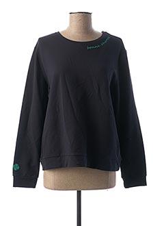 Sweat-shirt bleu 1 2 3 pour femme