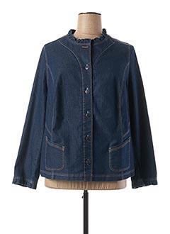 Veste en jean bleu SOMMERMANN pour femme