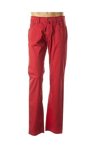 Pantalon casual rouge PIERRE CARDIN pour homme