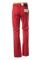 Pantalon casual rouge PIERRE CARDIN pour homme seconde vue