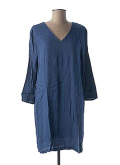 Robe courte bleu SCHOOL RAG pour femme