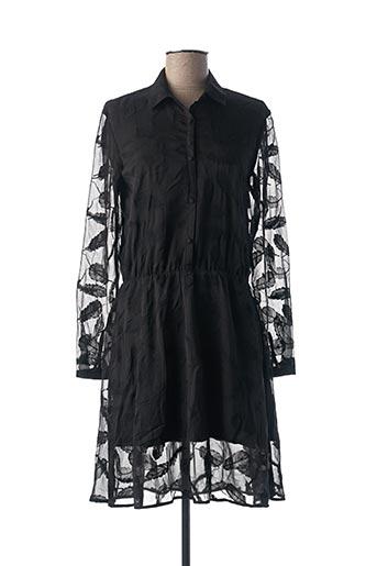 Robe mi-longue noir SCHOOL RAG pour femme