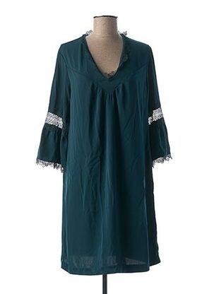 Robe mi-longue vert I.CODE (By IKKS) pour femme