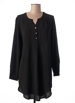 Tunique manches longues noir ONLY pour femme