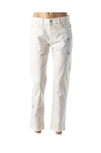 Pantalon casual blanc DOLCEZZA pour femme