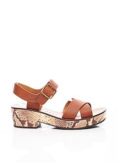 Sandales/Nu pieds marron CHIE MIHARA pour femme
