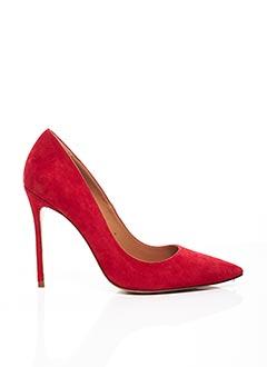 Escarpins rouge PURA LOPEZ pour femme