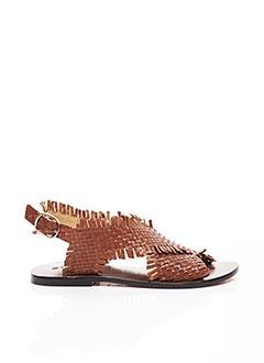 Sandales/Nu pieds marron STRATEGIA pour femme