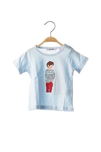 T-shirt manches courtes bleu MARESE pour garçon