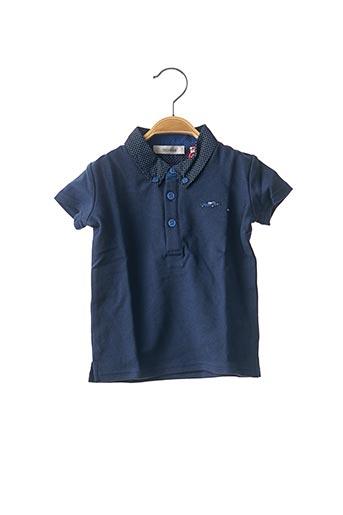 Polo manches courtes bleu MARESE pour garçon
