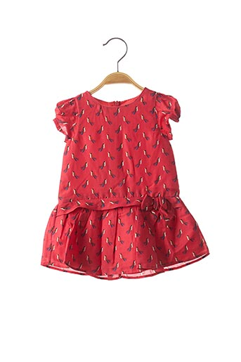 Robe mi-longue rouge MARESE pour fille