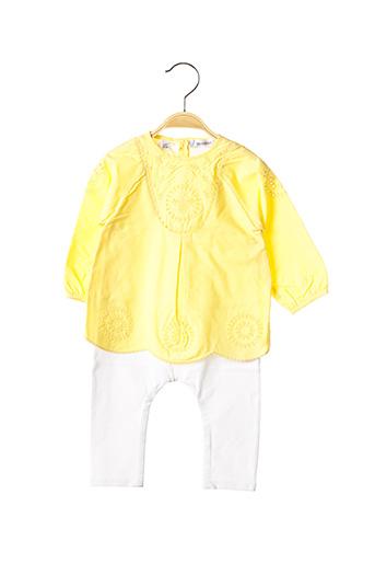Combi-pantalon jaune MARESE pour fille