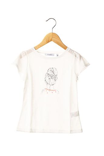 T-shirt manches courtes beige MARESE pour fille